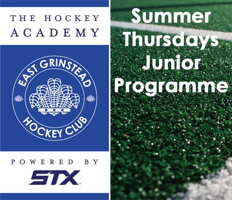 EGHC Summer Junior Programme Begins Thursday May 11th