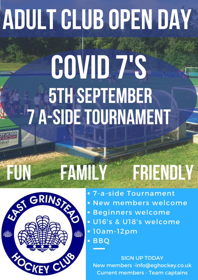 East Grinstead Hockey Club Open Weekend